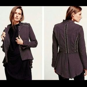 Free People Victorian Lace Jacket